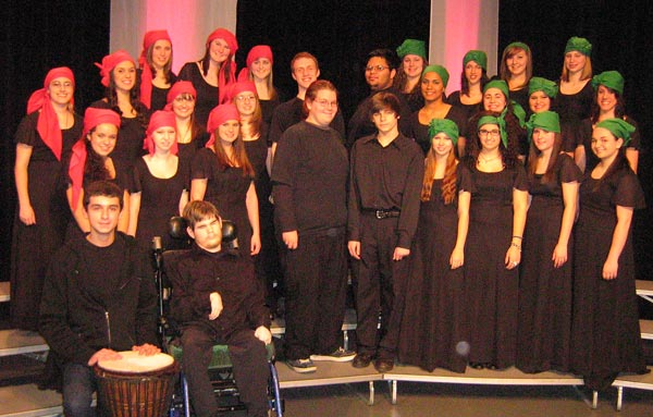 agawam high school together in song